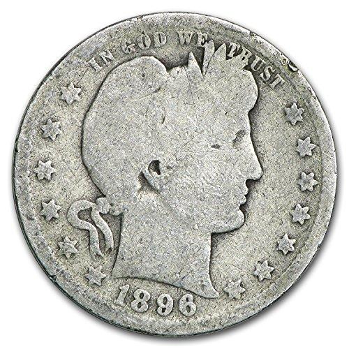 1896 O Barber Quarter Good Quarter Good