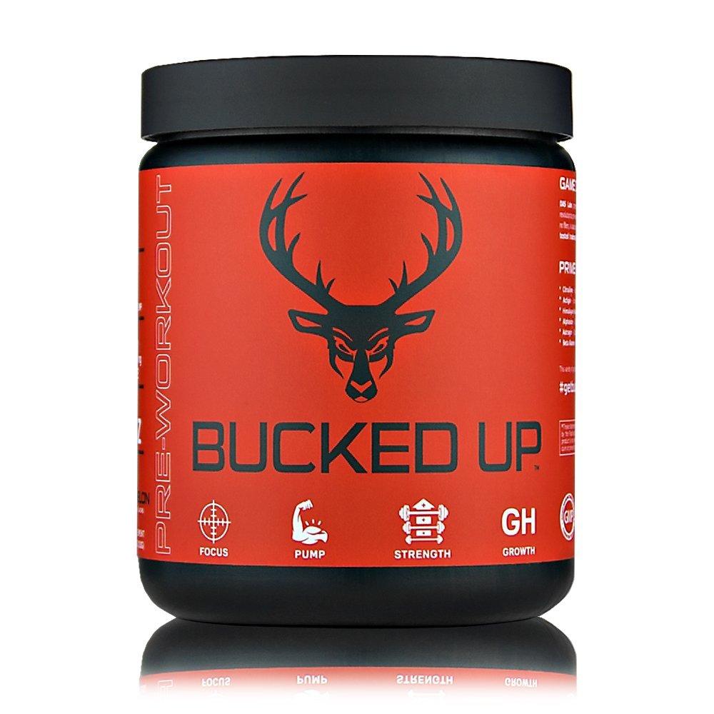 Bucked Up | Pre Workout Complex Strawberry Kiwi | 6 Grams Citrulline & 2 Grams Beta Alanine | Non Proprietary Blend