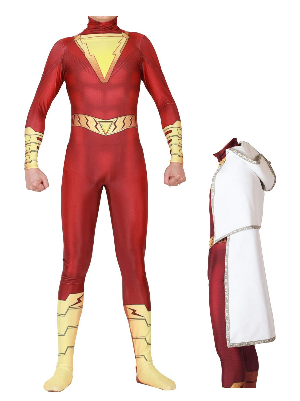 - 61E5JSlO0mL - Fasuit Cosplay Zentai Jumpsuit Bodysuit Spandex Halloween Costumes 3D Style Adult Kids