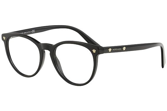 5da87dbb85 Amazon.com  Versace Unisex VE3257 Eyeglasses 53mm  Clothing