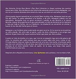 Dos Historias Cortas Para Dormir: La Historia de la Rana Amelia y El Gran Pirata Malaquías (Spanish Edition): Lina Quiñonez, Kalpart: 9781628575170: ...