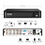 ZOSI H.265+ 1080p Home Security Camera System, 8