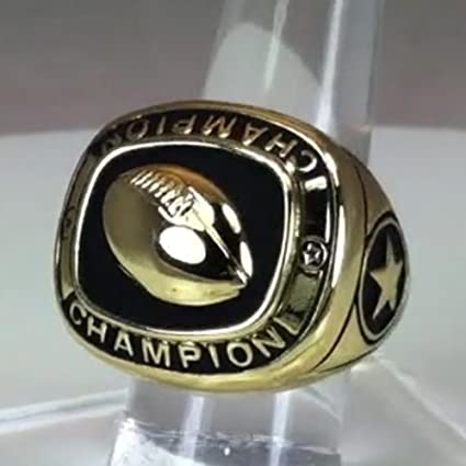 Amazon.com: Baloncesto Champion trofeo Anillos, 10: Sports ...