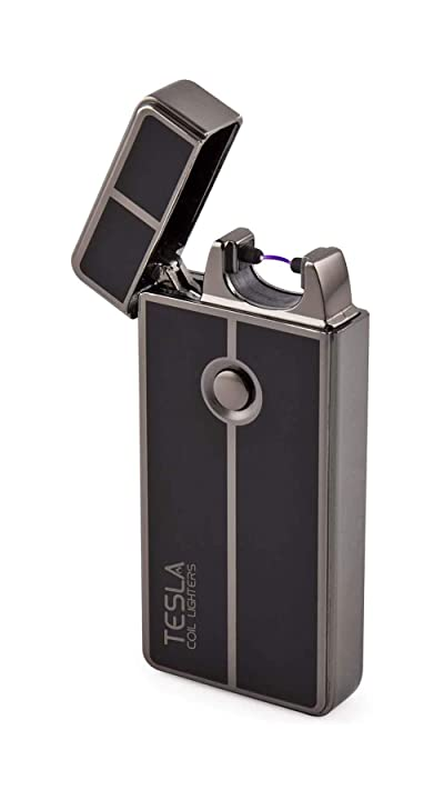Tesla Coil Lighters USB Rechargeable Windproof Arc Lighter