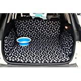 Oxford Trunk Liner - Car SUV Van Cargo Cover - Waterproof Floor Mat for Dogs Cats
