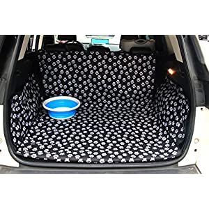 Pet Dog Trunk Cargo Liner – Oxford Car SUV Seat Cover – Waterproof Floor Mat for Dogs Cats – Washable Dog Accessories