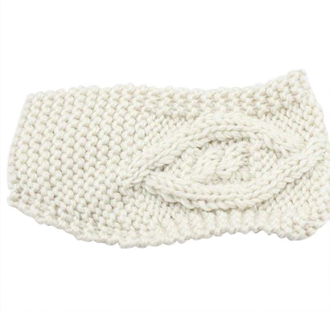 BakeLIN Damen Tricken Strick Stirnband Winter Warm Kopfband Frauen ...