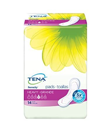 "TENA Serenity Heavy Absorbency Pads 13"" ..."