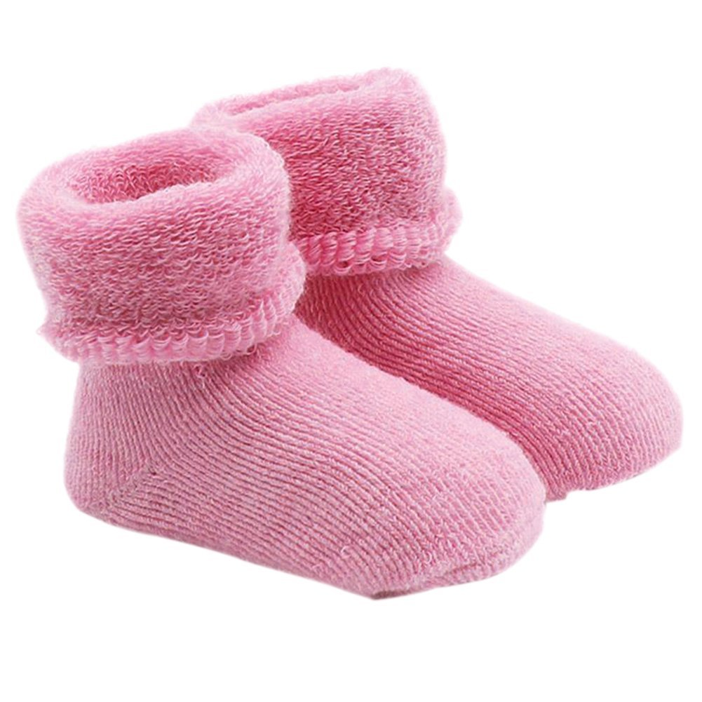 Newborn Baby Boy Girl Infant Toddler Learning Walk Comfortable Winter Socks ruiycltd