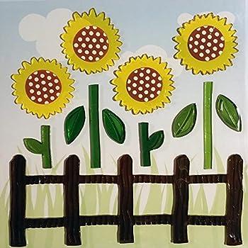 Amazon.com: Design Ideas GelGems Flower Themed Gel Window