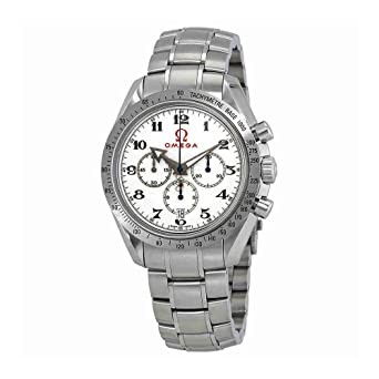 b65b83ccff6 Image Unavailable. Image not available for. Color  Omega Speedmaster Broad  Arrow Olympic Timeless Collection ...