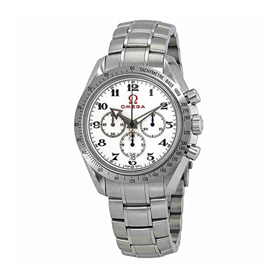 Omega Specialities Olympic Collection - Reloj (Reloj de pulsera, Masculino, Acero, Luz
