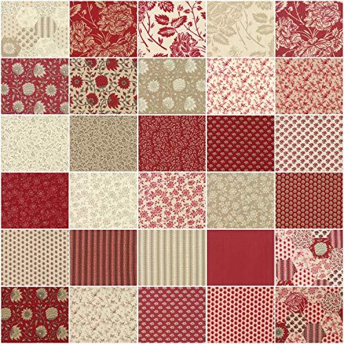 Lunn Studios Artisan Batiks Serendipity 16 Fat Quarter Bundle Robert Kaufman Fabrics FQ-1449-16-15