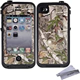 Wisdompro® Colorful Decorative Vinyl Decal Skin Stickers for Lifeproof iPhone 4/4s Case (Tree Camo)