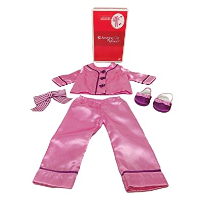 "American Girl Rebecca\'s Satin Pajamas for 18"" Dolls Beforever 2015 (Doll Not Included): Toys & Games"