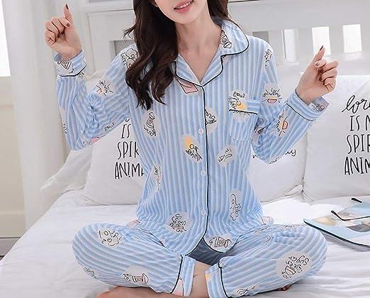 SKJK Pijama de Mujer Pijamas para Mujer Ropa para Mujer Algodón ...