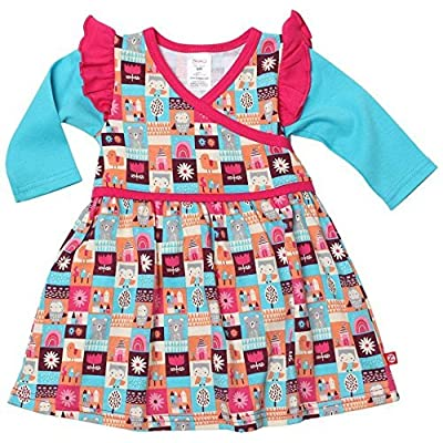Zutano Unisex Baby Tiny Town Dress (Baby) - Multi - 18 Months