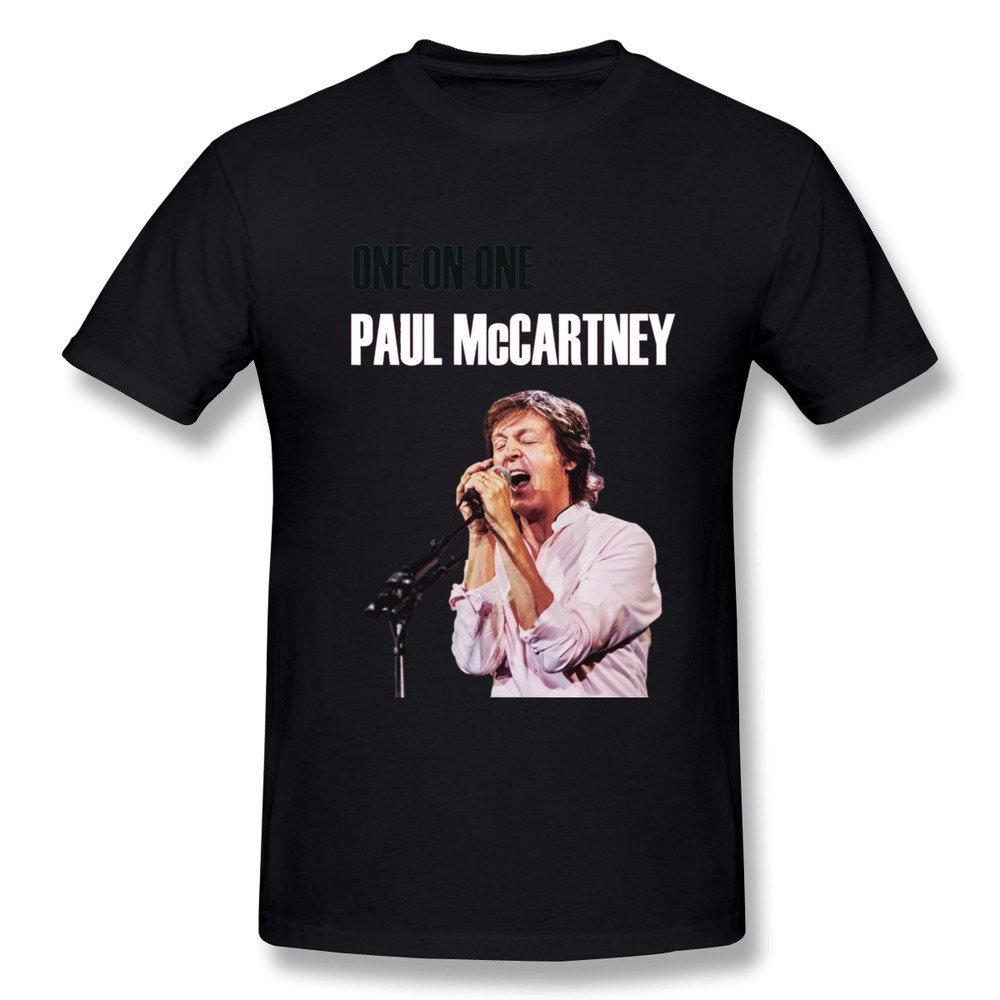 C S Paul Mccartney One On One 2016 Tour T Shirt Royalblue 3320