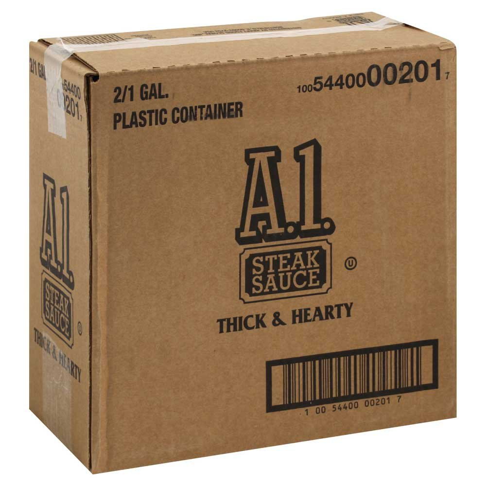 A1 Thick and Hearty Steak Sauce, 128 Ounce -- 2 Per Case by A1