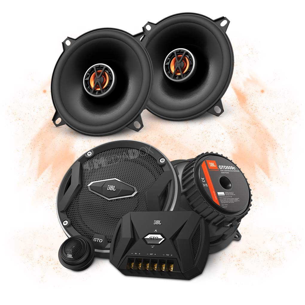 JBL Front/Heck 13cm/130mm Auto Lautsprecher/Boxen/Speaker Komplett-Set fü r Honda Mediadox Ltd. LS-HON-SET-001