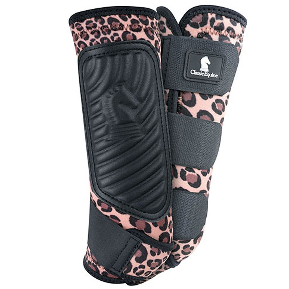 Cheetah LargeClassic Equine CrossFit Front Boots