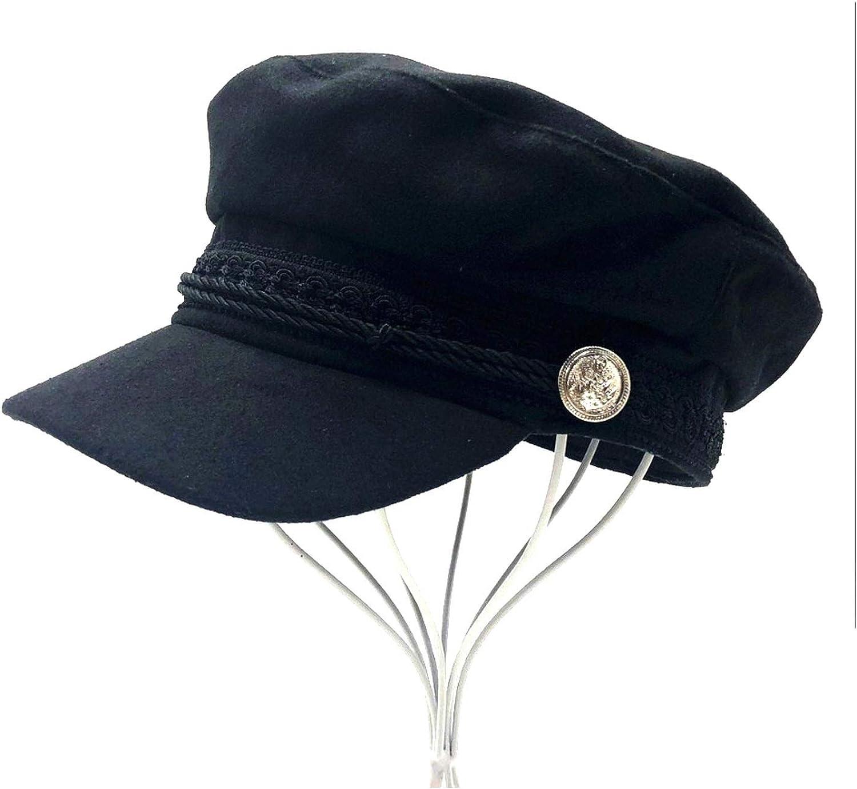 Solid Visor Military Hat...
