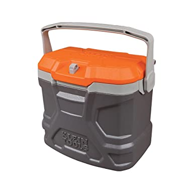 Lunch Box, Insulated Cooler Tote Has 9-Quart Capacity and Seats up to 300 Pounds Klein Tools 55625
