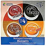 Barnyard Answer Buzzers, Set Of 4