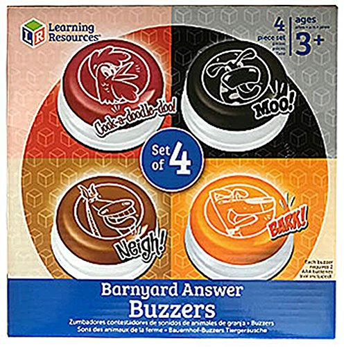 (Learning Resources Barnyard Buzzers, Set of 4)