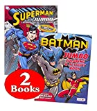 Bendon Publishing DC Comics Batman & Superman Coloring and Activity Book Set (Two 96 -Page Books)