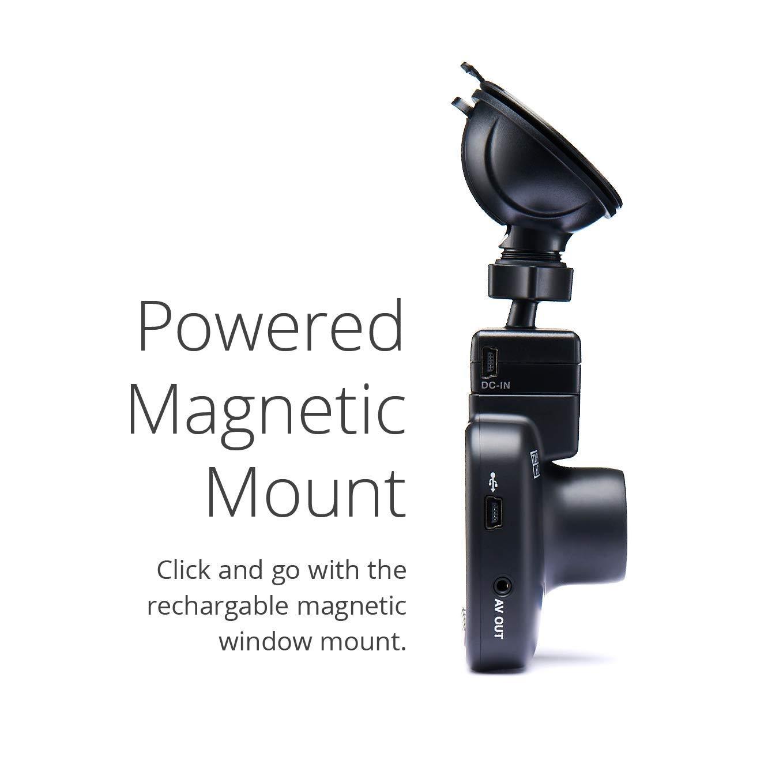 140 /° Weitwinkel Full QUAD HD 1440p Dashcam Auto-Kamera mit GPS DVR HDR WiFi WDR Frontkamera Nextbase 512GW Polfilter /& erweiterter Nachtsicht Schwarz