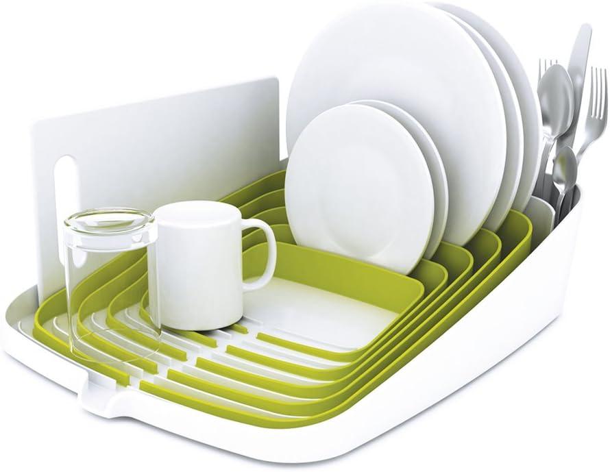 Joseph Joseph Arena White & Green Dish Drainer