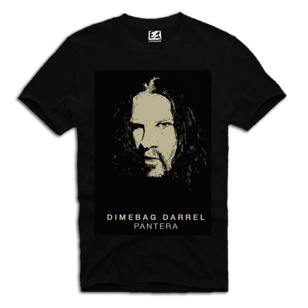 T-shirt Pantera Dimebag Darrell Black Sz. S-