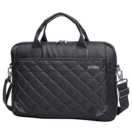 da2766195a06 Laptop Bag 15.6 Inch,DTBG Nylon Diamond Pattern Water Resistant Laptop  Briefcase Shoulder Messenger Bag Case for 15 - 15.6 Inch Laptop / Notebook  / ...