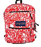 JanSport Big Student Backpack (One Size, Coral Dusk Jungle Adventure)