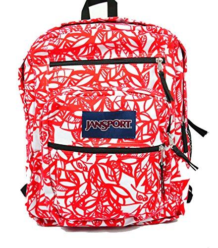 JanSport Big Student Backpack (One Size, Coral Dusk Jungle Adventure) by JanSport