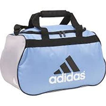 6db42ba5ee ... adidas DIABLO SMALL DUFFLE Light Blue Gym Bag the best attitude 2fc80  323a7  Duffel Bags ...