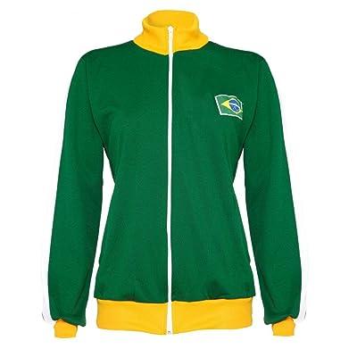 Authentic Brazilian Long Sleeved, Capoeira Zip Up Jacket - Unisex (Green with Berimbau Design on Back)