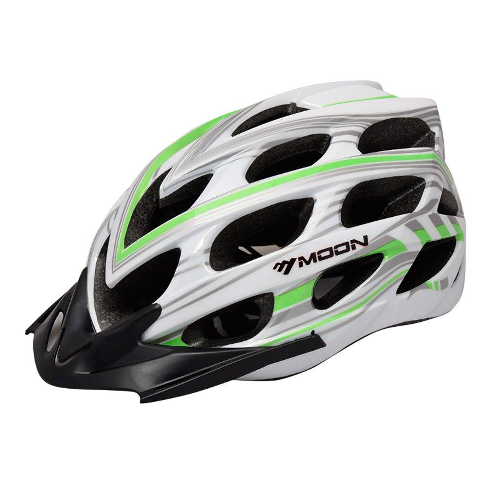 Abnehmbarer Hut Bike Helm, verstellbarer Sport Radsport Helm Fahrrad Fahrradhelme für Road & Mountain Biking, Motorrad für Erwachsene Männer & Frauen, Jugend - Racing, Sicherheitsschutz