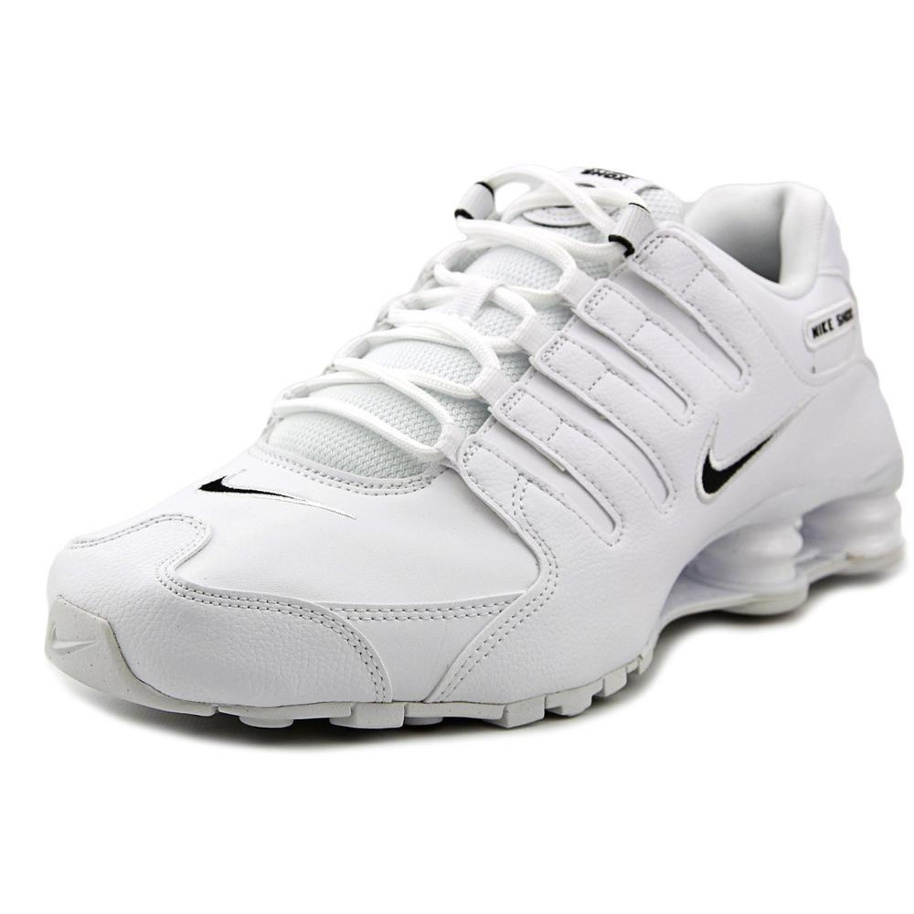 4703dc373ad Galleon - Nike Men s Shox NZ Running Shoe White   Black - White - 11 D(M) US