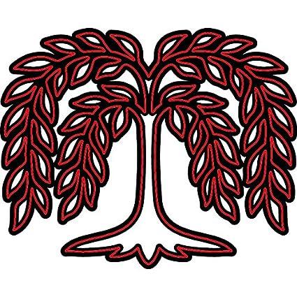 Darice Craft Dies Willow Tree Die Cut with Embossing Stencil
