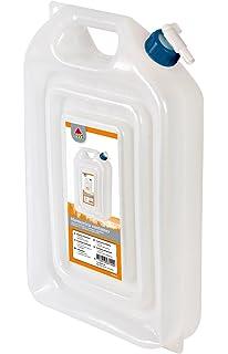 Camp Gear 6603120 - Bidón con Grifo para Adulto, Color Blanco, ...