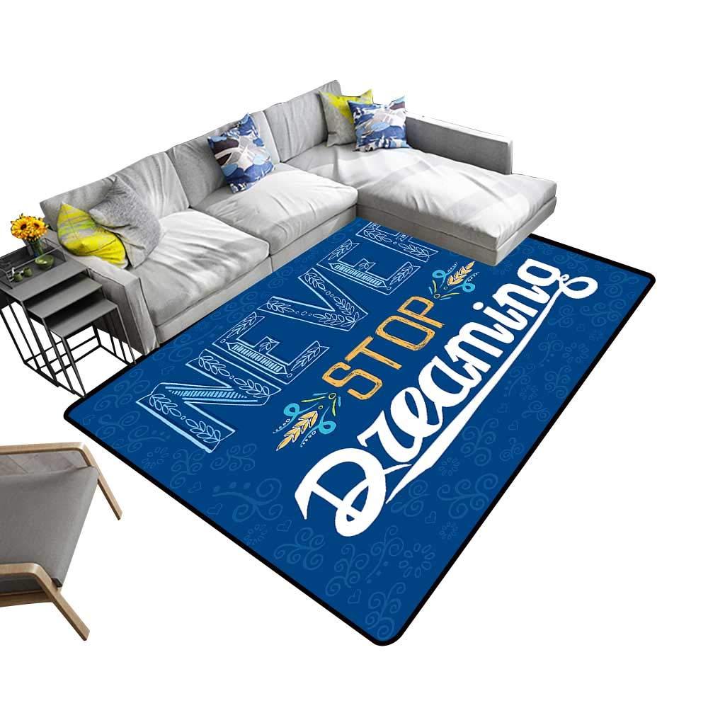 Amazon.com: alsohome Printed Carpet Sandy Dunes in Famous ...