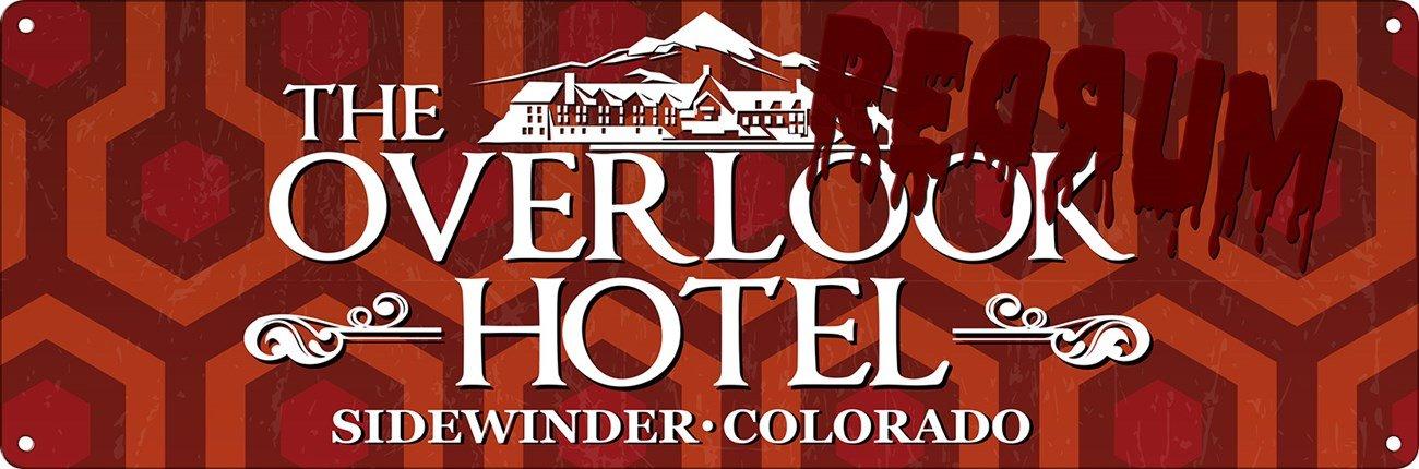 The Overlook Hotel Slim Tin Sign