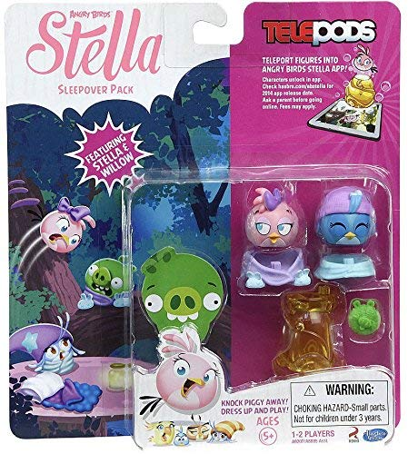 (Angry Birds Stella Telepods Sleepover Figure 2-Pack [Stella & Willow])