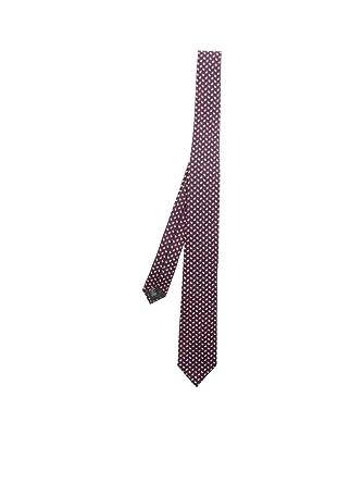 a7214884d4 Z Zegna Men's Z5w081l7f Burgundy Silk Tie at Amazon Men's Clothing ...