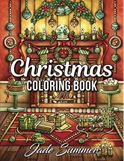 Christmas Coloring Book An Adult With Fun Easy And Relaxing