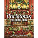 Christmas Coloring Book: An Adult Coloring Book with Fun, Easy, and Relaxing Coloring Pages (Perfect Gift for Christmas Lovers)