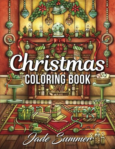Christmas Coloring Book: An Adult Coloring Book with Fun, Easy, and Relaxing Coloring Pages (Perfect Gift for Christmas Lovers) cover