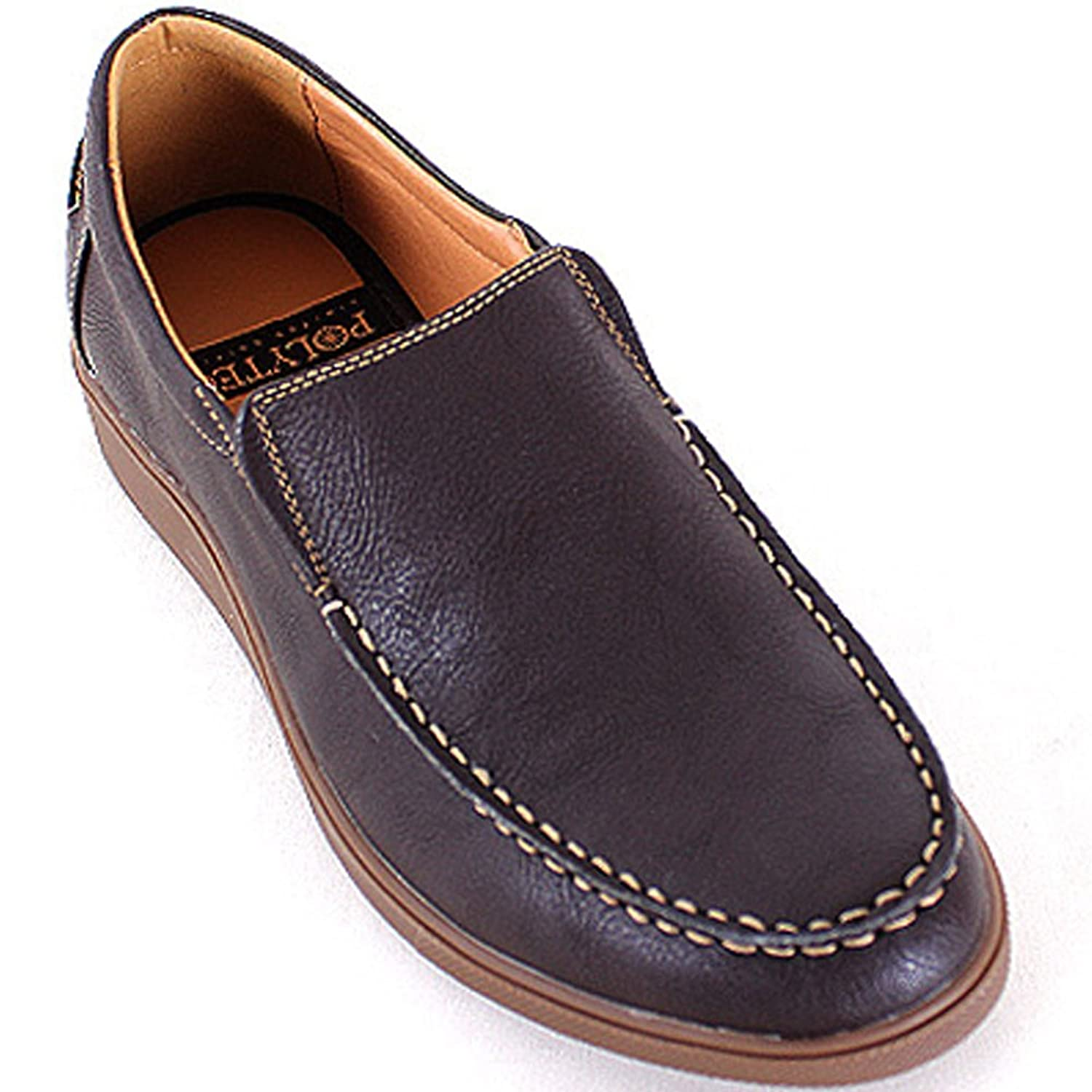 New Polytec Comfort Slip on Fashion Sneakers Men Casual Athletic Loafers Dress Shoes